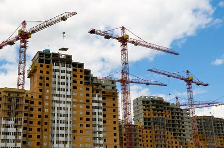 Construction work site Stock Photo - 4594543