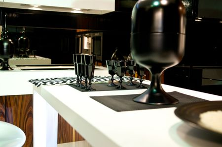 Design of classical modern kitchen Stock Photo - 4883555