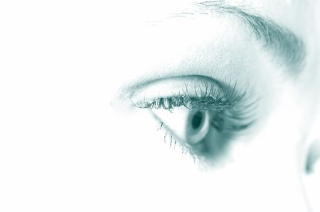 macro beautiful female eye Stock Photo - 4908848