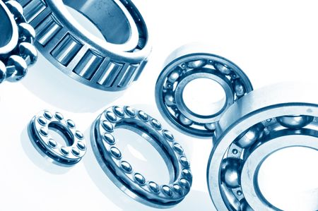 metall Ball bearings - industrial design  photo