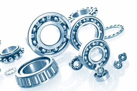 concision: metall Ball bearings - industrial design