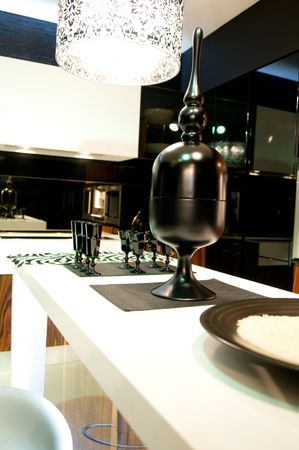 Design of classical modern kitchen Stock Photo - 5375005
