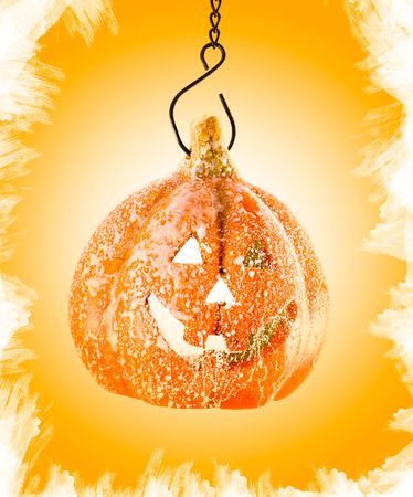 Pumpkin orange toy halloween party photo