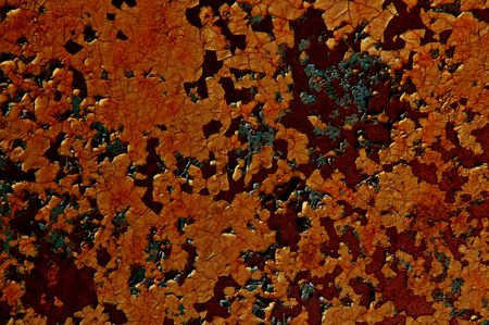 oxidate: abstract grunge metal background