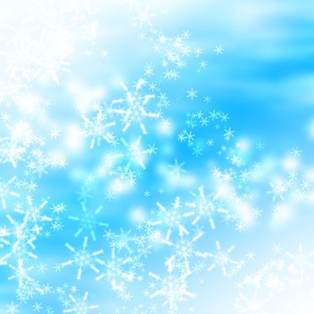Snowflake background Stock Photo - 5743181