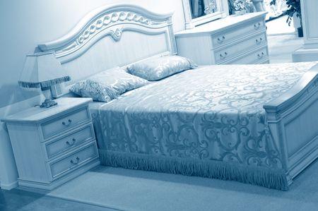 Modern vibrant bedroom interior design  Stock Photo - 5819092