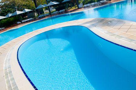 beautiful swimming pool  photo