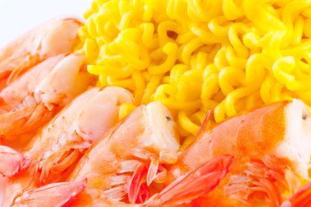 pasta and shrimp photo