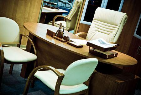 private room: Study. Modern design Stock Photo