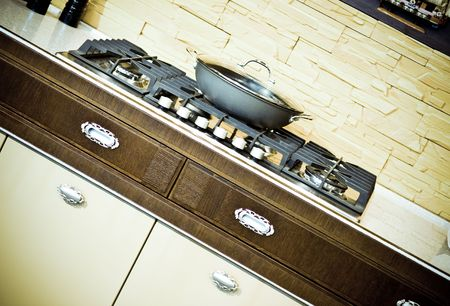 Design of classical modern kitchen Stock Photo - 6394772