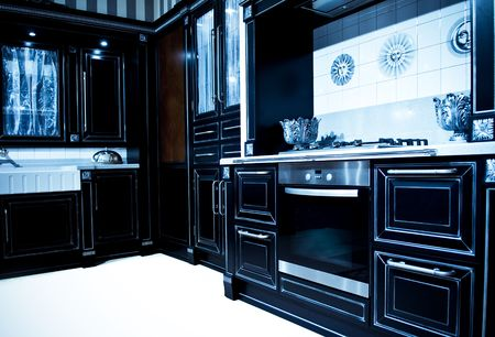 Design of classical modern kitchen Stock Photo - 6394783