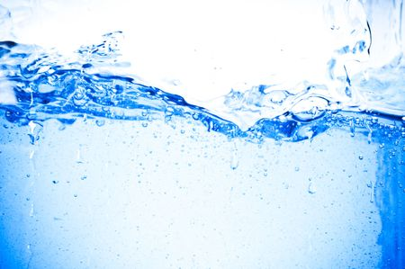 The abstract water splash background Stock Photo