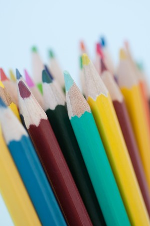 color pencils. small DOF Stock Photo - 7709404