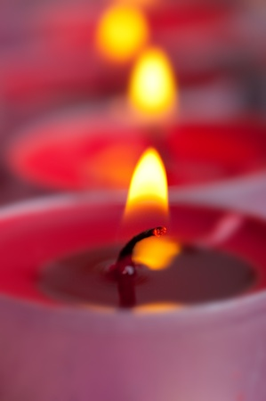 candles on a blurred background Stock Photo - 8397875