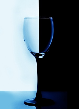 Red wine glass on background Stock Photo - 8598479