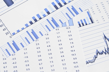 Business background, financial data concept Stock Photo - 10835058