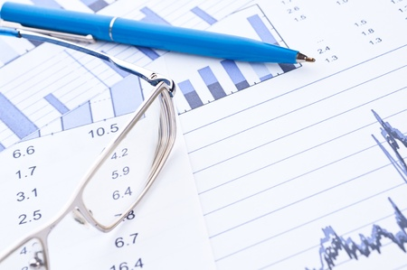 Business background, financial data concept Stock Photo - 10835024