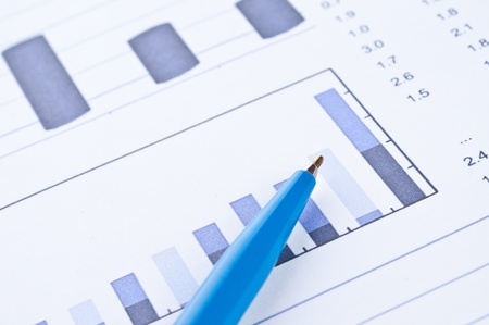 Business background, financial data concept photo