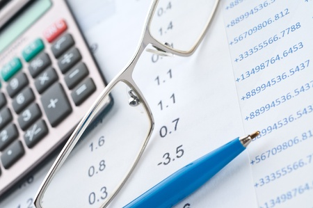 Business background, financial data concept Stock Photo - 10835062