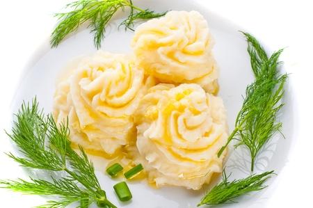 картофель: Картофельное пюре