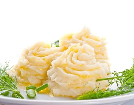 pure patatas: Pur� de papas