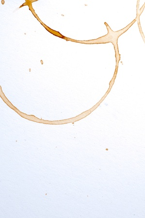 Coffee stain photo