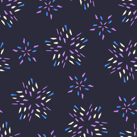 cuttings: abstract vector background with stars
