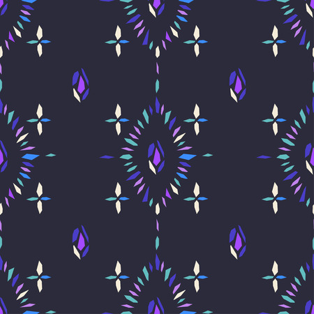 cuttings: abstract background with geometric ornament