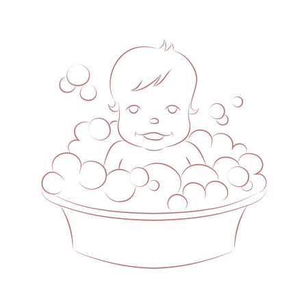 crawling baby: Vector illustration of a cute crawling baby. Illustration