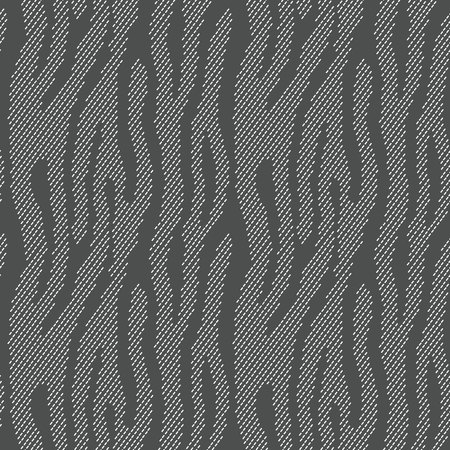 zebra crossing: Abstract animal print. Seamless vector pattern with zebratiger stripes. Textile repeating animal fur background. Halftone stripes endless bachground.