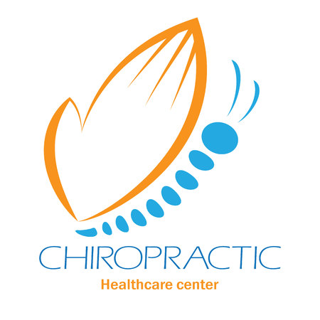 Chiropractic clinic with butterfly