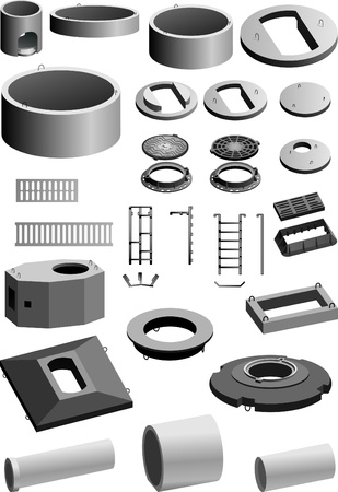 Set of concrete products  Vector