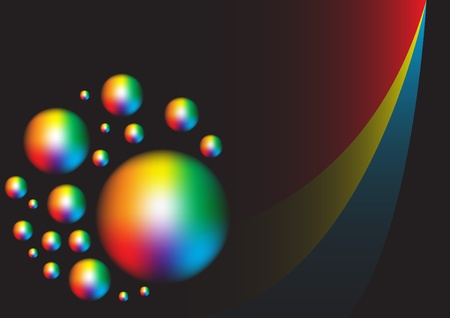 Spectral Background Stock Photo - 9168436
