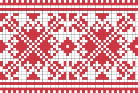 ukraine folk: Ethnic Ukrainian ornamental pattern #6 Illustration