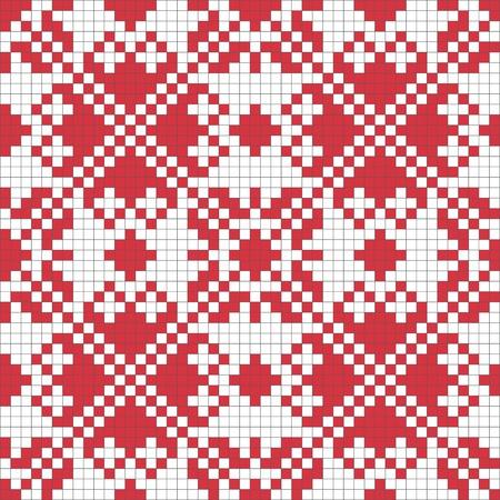 Ethnic Ukraine seamless pattern #5 Vector