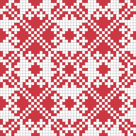 embroider: Ethnic Ukraine seamless pattern #5