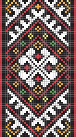 Ukrainian ornament, #7, vector