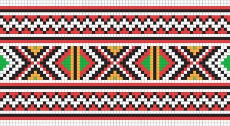 embroider: Ethnic Ukraine seamless pattern #13