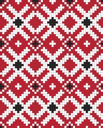 Ethnic Ukraine seamless pattern Stock Vector - 9254461