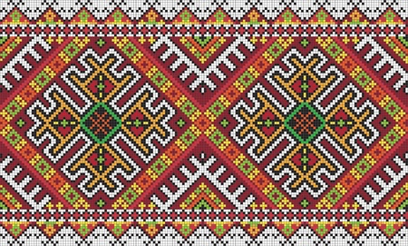 Ucrania ornamento sin problemas étnico