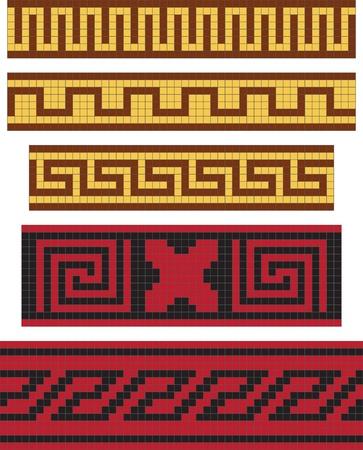 Greek national ornament, seamless pattern