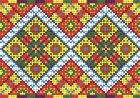 Ukrainian ethnic seamless ornament, #28 Vector