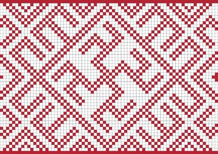 kelet európa: Ethnic Ukraine seamless pattern #29 Illusztráció