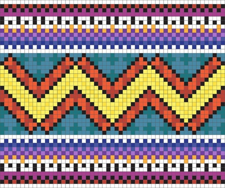 Ukrainian ethnic seamless ornament, #33 Vector