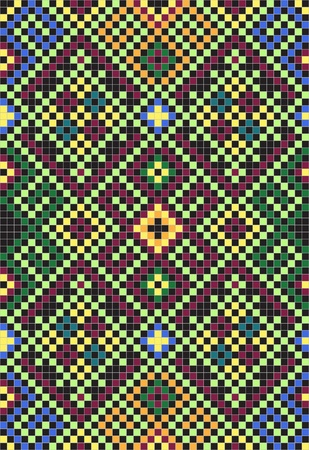 Ukrainian ethnic seamless ornament, #34 Vector