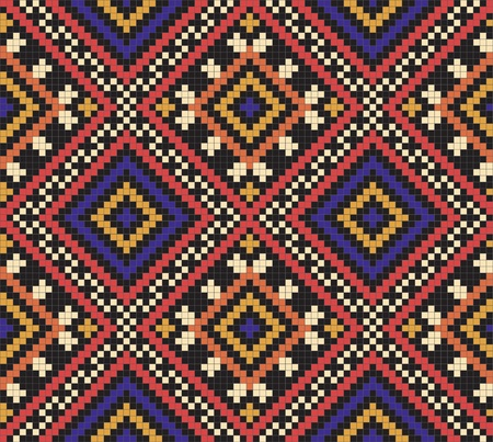 Ukrainian ethnic seamless ornament, #35 Vector