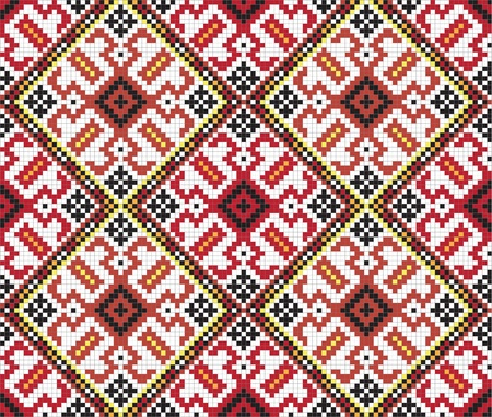 우크라이나어 민족 원활한 장식 스톡 콘텐츠 - 9933079