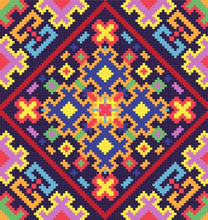 r�p�titif: Ukrainienne ornement ethnique homog�ne