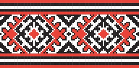 Ukrainian ethnic seamless ornament, #58, vector Stock Vector - 10449079