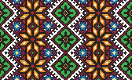 embroider: Ukrainian ethnic seamless ornament, #56, vector Stock Photo